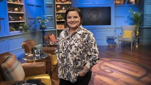 Susan Calman, host of Armchair Detectives.