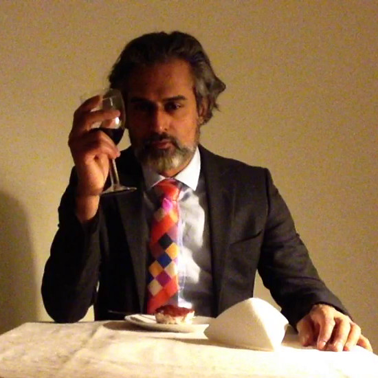 Kal Sabir in his short film Eat Me