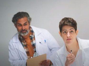 Kal Sabir in the FreeAgent online ad.